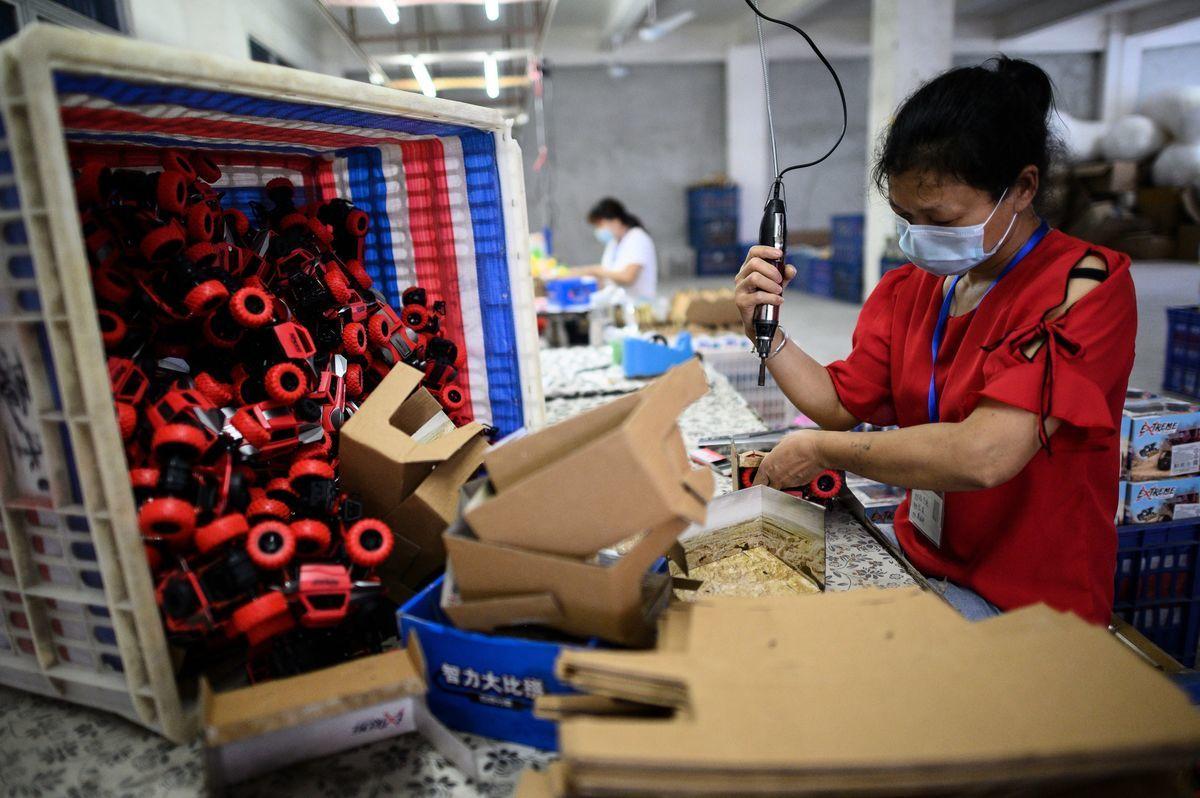 中國經濟增長放緩,中共釋放降準信號。(NOEL CELIS/AFP via Getty Images)