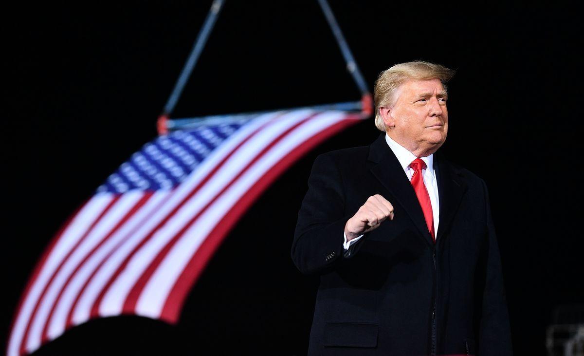 圖為美國第58屆總統特朗普的資料照片。(MANDEL NGAN/AFP via Getty Images)