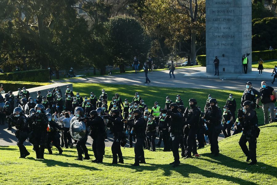 澳洲警方禁空中直播抗議活動 媒體斥阻礙新聞自由