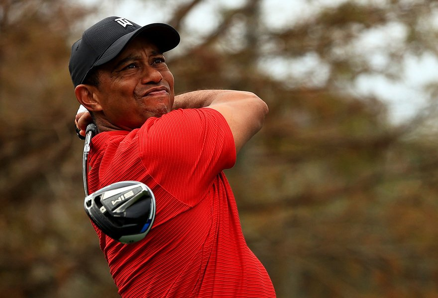 Tiger Woods 車禍受傷 特朗普祝早日康復