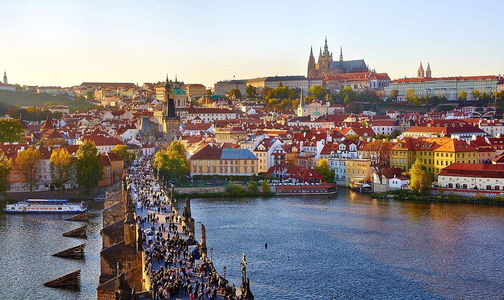 被列入世界文化遺產的捷克布拉格歷史中心(Historic Centre of Prague)。(Moyan Brenn/維基百科)