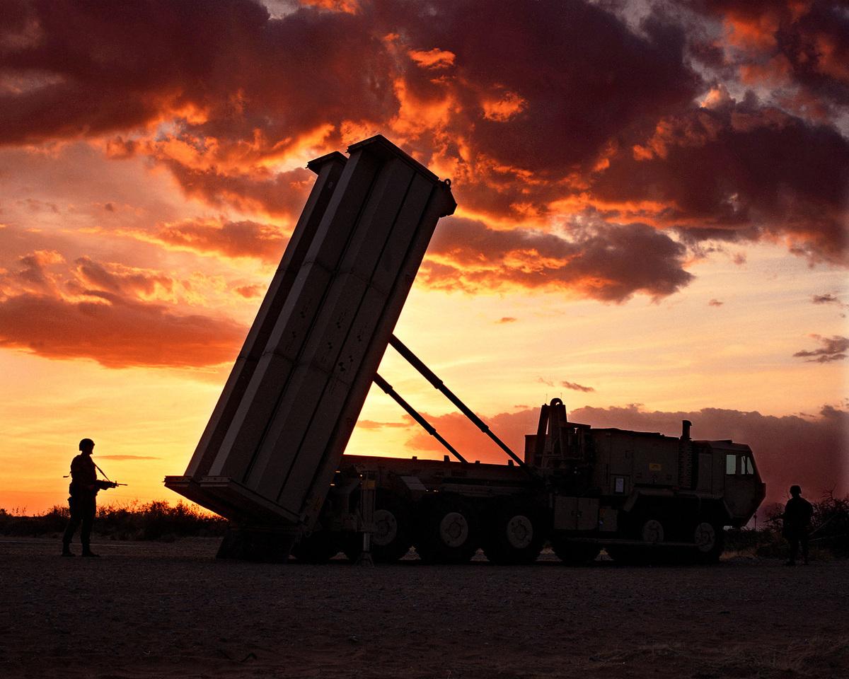 在中韓關係破冰漸暖之際,中國國防部發言人吳謙11月30日突然再次強調「撤除薩德才是解決問題的根本之道」。(Lockheed Martin)