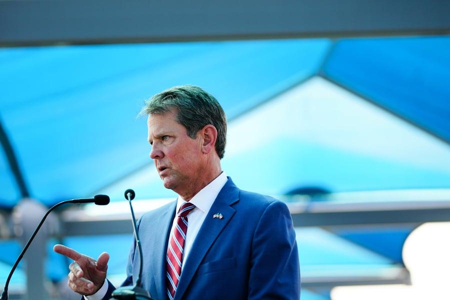 佐治亞州州長要求審核選票信封上的簽名