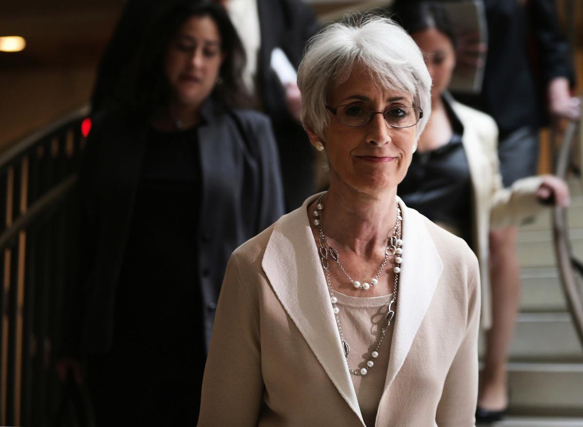 美國副國務卿溫蒂.舍曼(Wendy Sherman)9月4日在其推特官方帳號上推出一段中美關係的影片,強調「競爭、合作加對抗」的三分對華關係原則。圖為舍曼資料照。(Alex Wong/Getty Images)