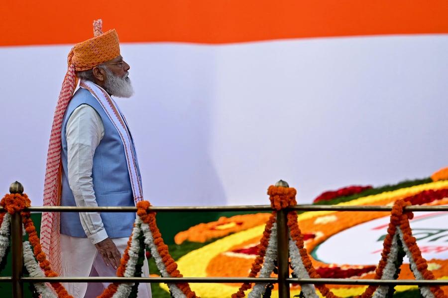 莫迪印度獨立日演講 暗指中共是重大挑戰