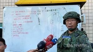 台軍方:直升機為避民宅180度迫降墜毀