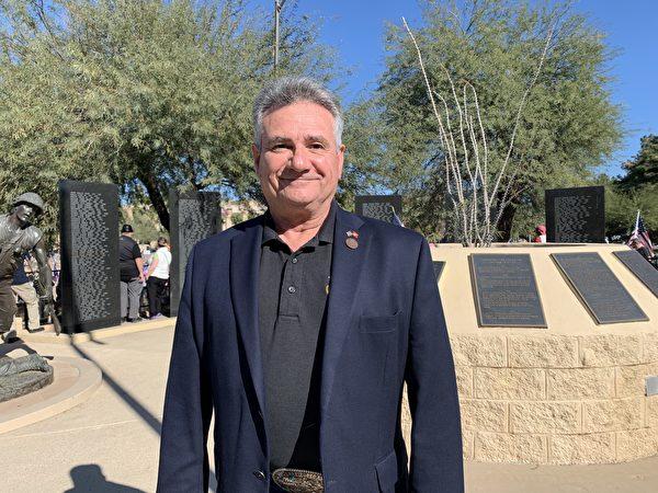 亞利桑那州參議員、州參議院多數黨黨鞭、州司法委員會成員桑尼·波雷利(Sonny Borrelli)。(姜琳達/大紀元)