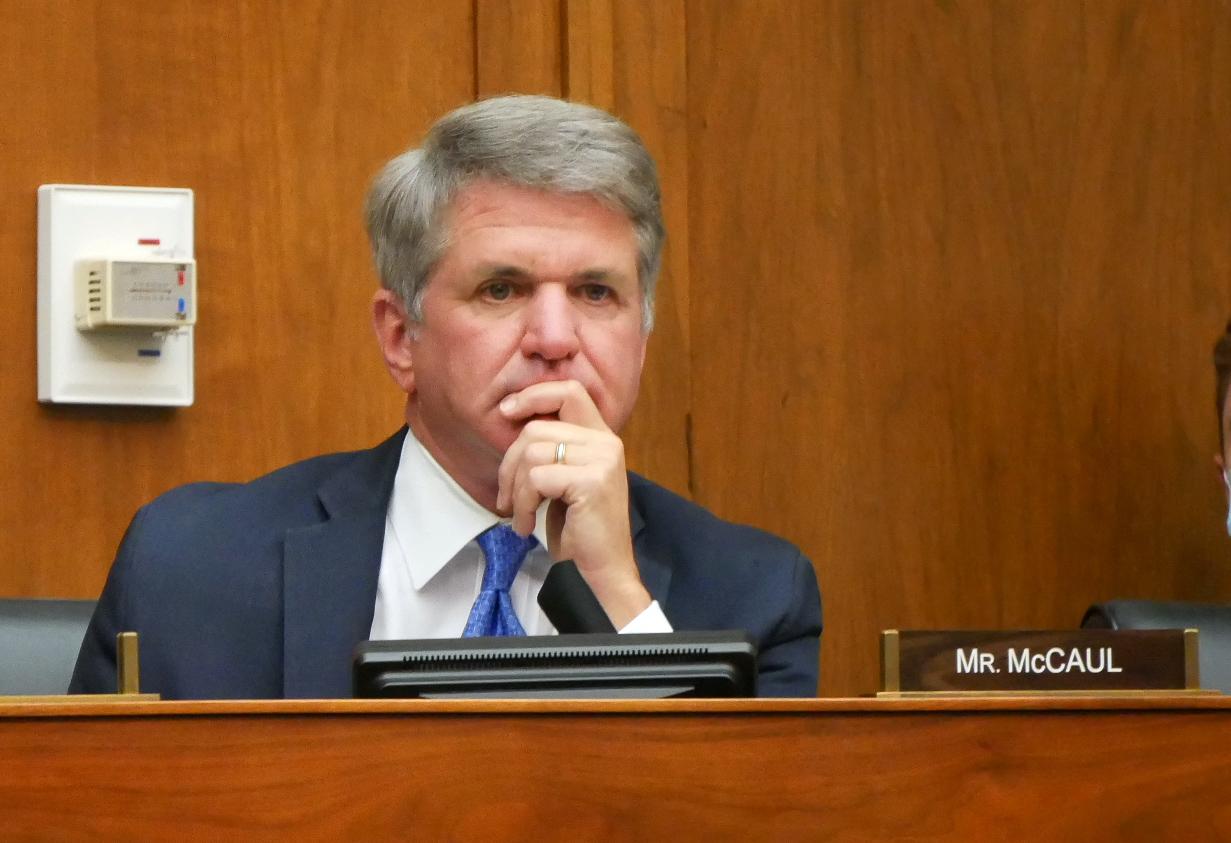 眾議院外交事務委員會副主席、資深共和黨議員邁克爾.麥考爾(Michael McCaul)督促拜登政府向中共明確表示,不能容忍北京的脅迫行為。麥考爾資料照。( Michael McCaul)(大紀元)