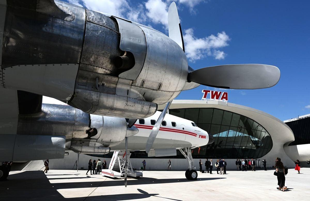位於紐約市甘迺迪國際機場旁的TWA酒店。該酒店採用了StayNTouch的Rover PMS系統。(TIMOTHY A. CLARY/AFP via Getty Images)