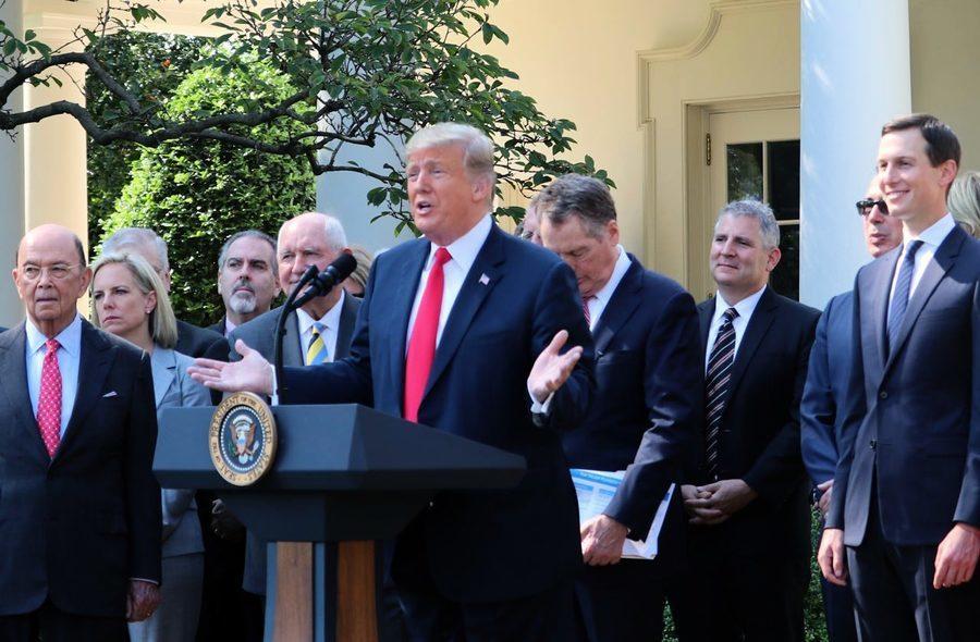 特朗普推出孤立中共條款 重塑全球貿易秩序