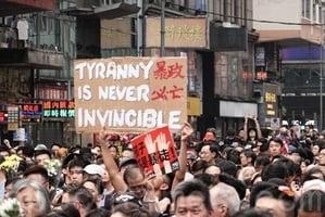 高天韻:港人護港 二百萬人大遊行震撼全球