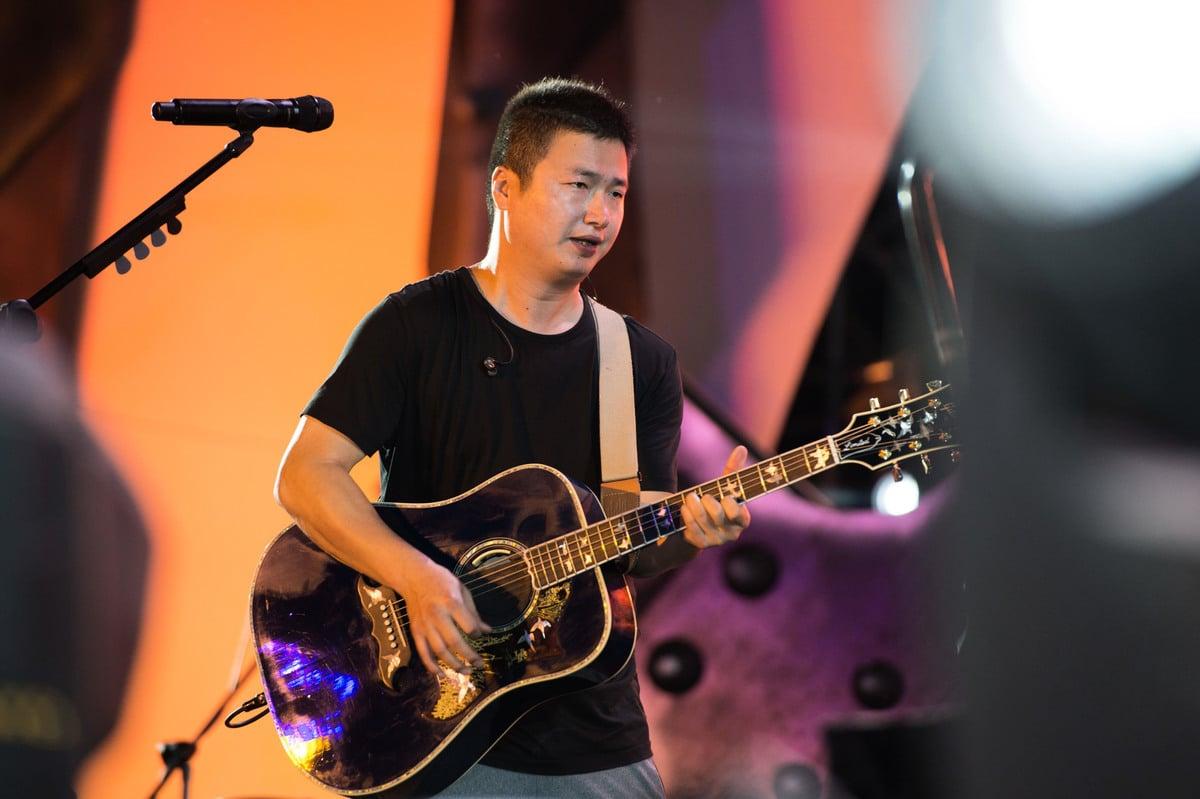 大陸禁歌創作歌手李志資料照。(大紀元資料室)