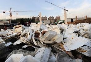 一年200萬噸外賣垃圾 中國被塑料圍城