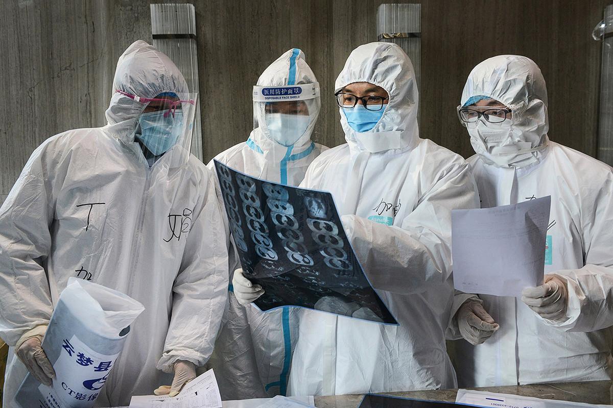 截至當地時間2月29日上午,南韓迄今共感染2,931例中共肺炎。 (STR/AFP via Getty Images)