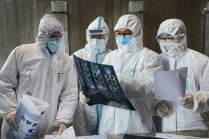 中共肺炎南韓新增586人 出生45天男嬰染疫