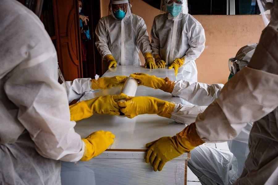 全球日增50萬人染疫 印尼單日逾5萬確診