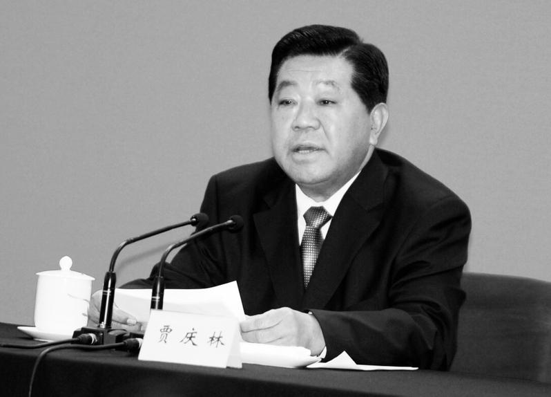 消息人士披露,中共前政協主席賈慶林僱用了一架私人飛機將香港的財產轉移到柬埔寨。圖為賈慶林資料圖。(AFP)