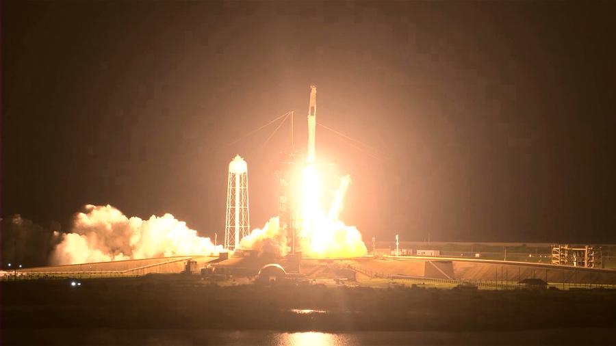 SpaceX載四名太空人前往國際太空站