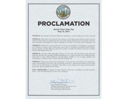 馬州弗雷德里克市宣佈「法輪大法日」