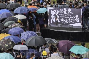香港中學生反送中 首周約1.6萬人罷課