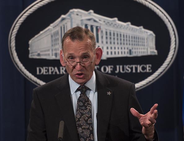 桑德斯表示,美國特勤局局長蘭多夫・阿爾斯(Randolph Alles,如圖)將很快離開特勤局。(Andrew Caballero-Reynolds/AFP/Getty Images )