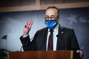 舒默下令起草法案 投入千億資金反制中共