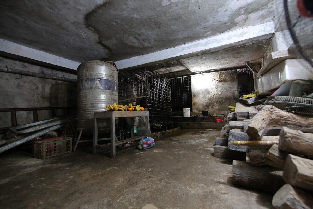 兩隻可憐的亞洲黑熊已經在這個暗無天日的養殖場地下室囚禁了17年。(Hoang Le/Four Paws提供)