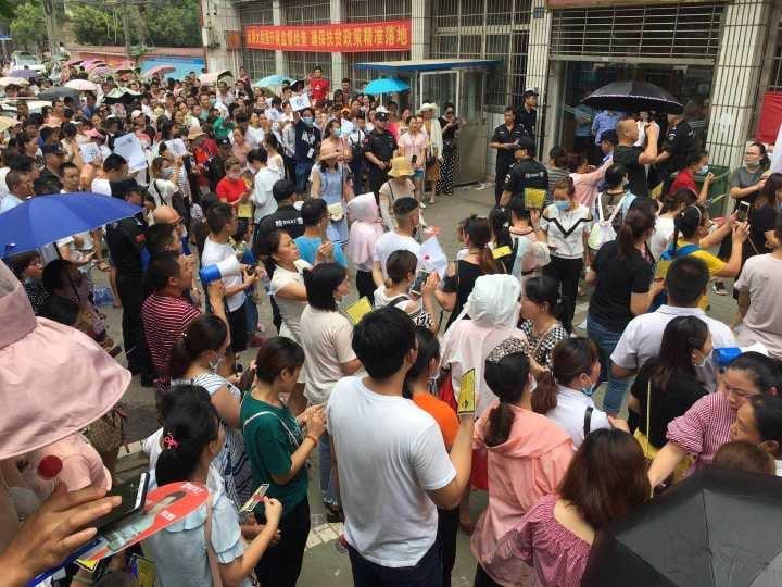 湖北萬民反對垃圾焚燒項目 千警暴力清場