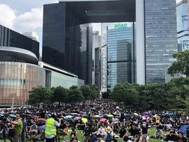 【9.3反送中】4萬人罷工集會 旺角警署傳槍聲