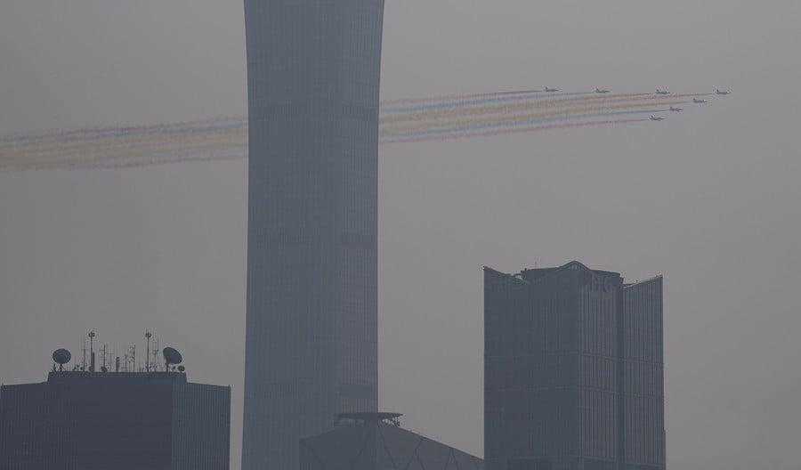 程曉容:十一霧霾 中共閱兵式傳遞何信息