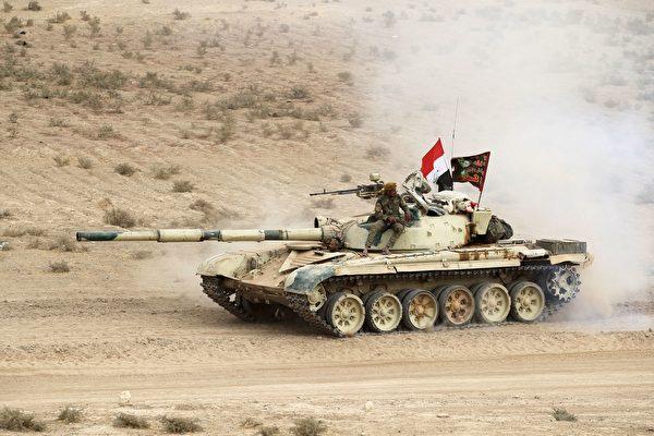 一名伊拉克將軍表示,伊拉克特種部隊星期二已進入摩蘇爾城市範圍之内。(AHMAD AL-RUBAYE/AFP/Getty Images)