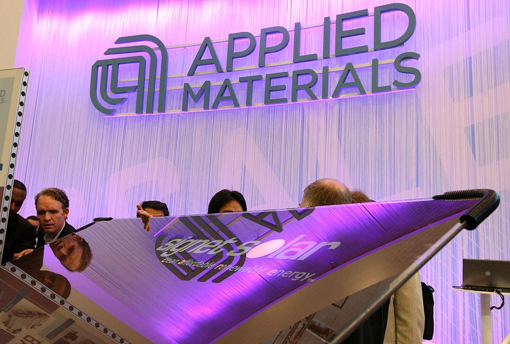 有日媒指出,美國應用材料公司將在今年年底前完成收購日本國際電氣的工作。(Justin Sullivan/Getty Images)