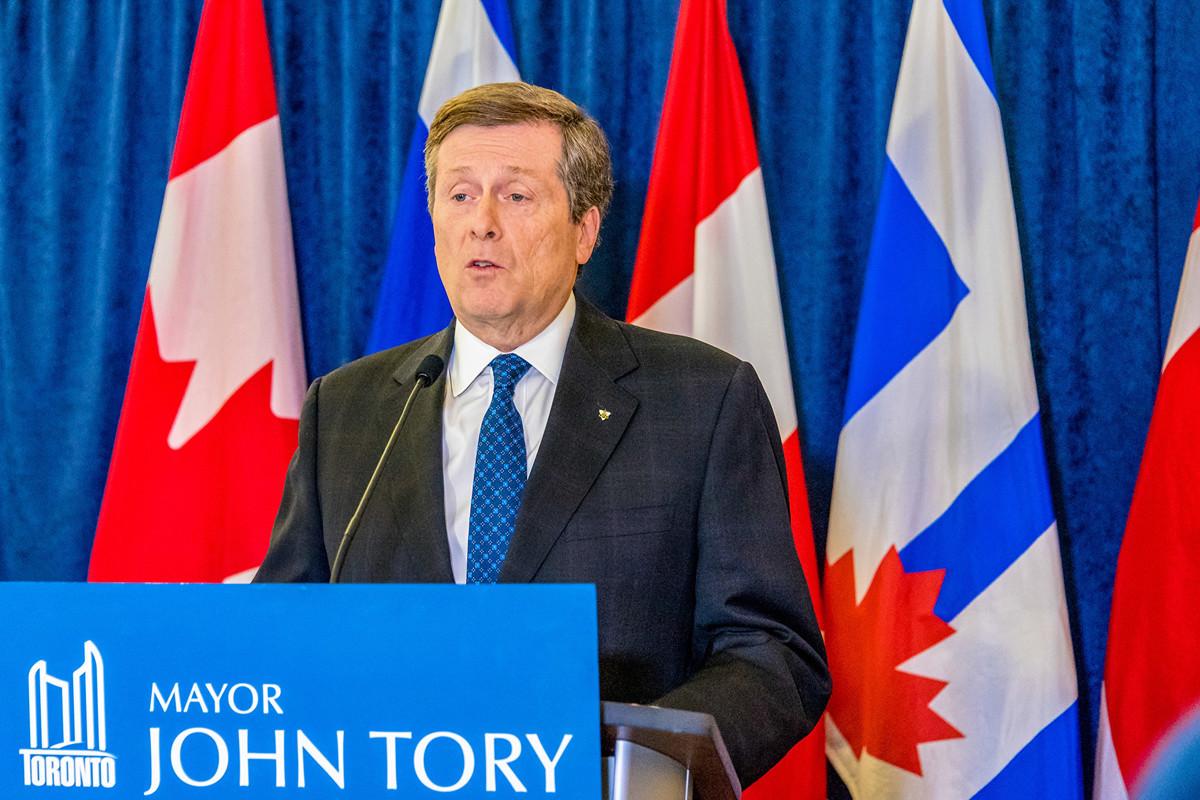 多倫多市長莊德利表示,加中關系緊張,今年不參加升中國國旗儀式。(Shutterstock)