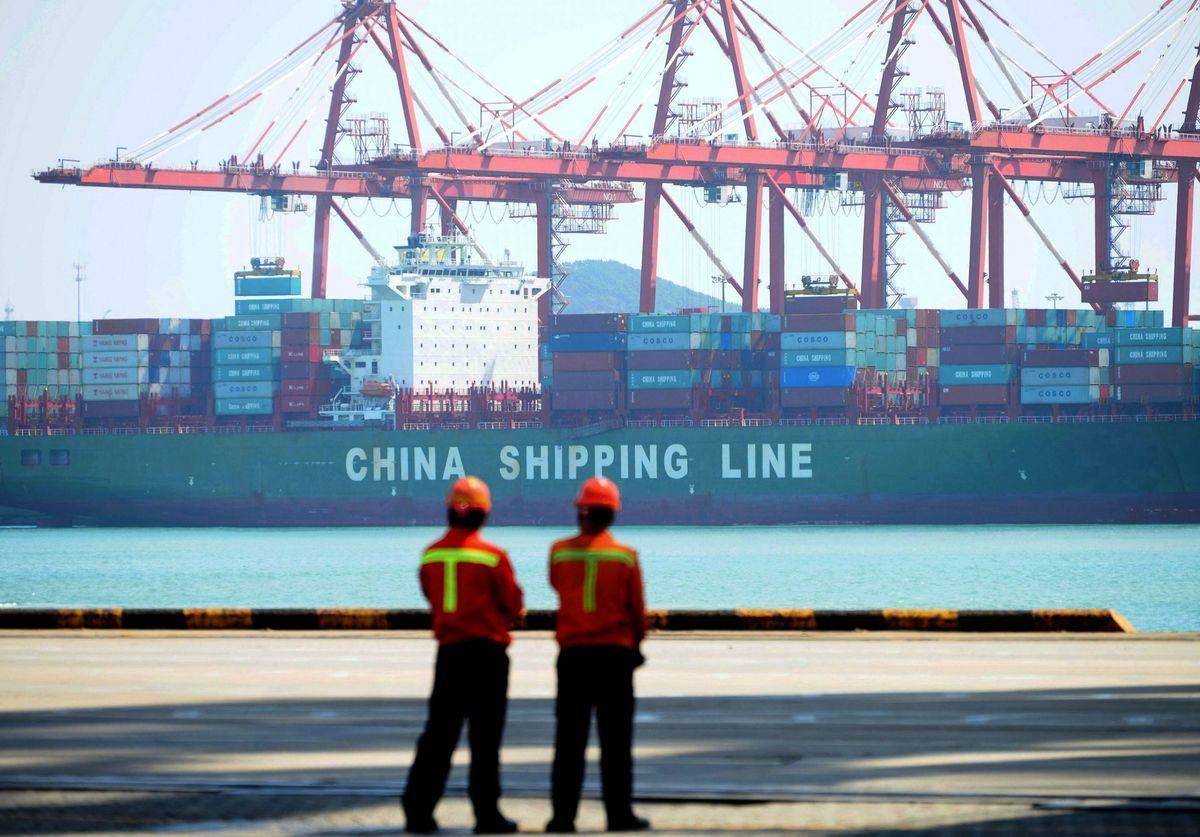 美國商會的年度調查顯示,美國公司認為,中美貿易緊張局勢會持續數年。(Getty Images)