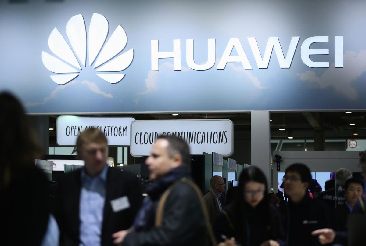 中國華為公司近期面臨一個重大危機,主要往來銀行如匯豐銀行(HSBC)及渣打銀行(Standard Chartered),斷絕與它的業務關係,花旗銀行則嚴格審查與華為的新交易。(Sean Gallup/Getty Images)