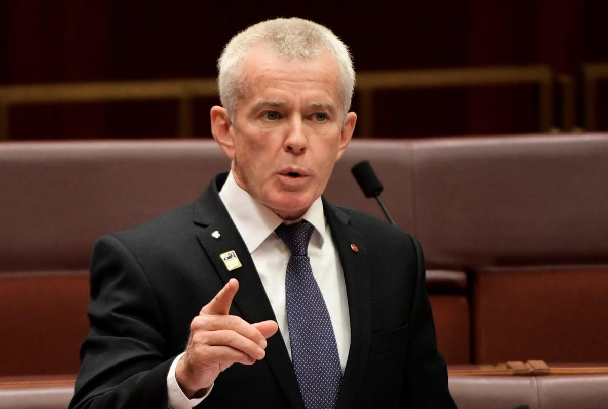 澳洲參議員羅伯茲(Malcolm Roberts)駁斥世衛對病毒起源的調查,稱其完全是在粉飾中共,他沒有信心相信調查結果。(Tracey Nearmy/Getty Images)