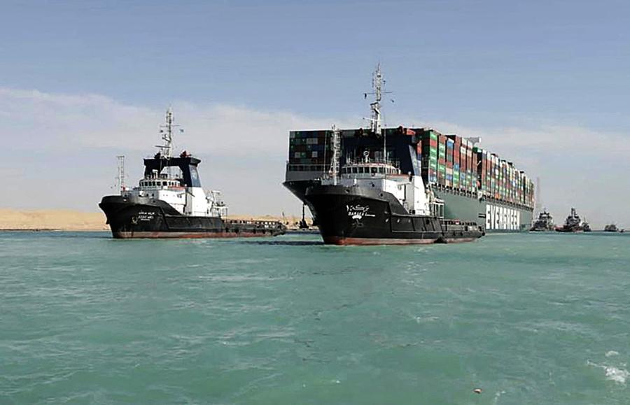 長賜輪卡蘇伊士運河 埃及擬索償10億美元