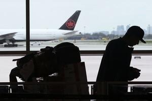 加航直飛中國航班暫停至4月