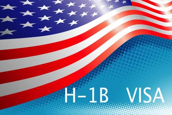 美國的H-1B工作簽證,每年配額僧多粥少,去年中籤率不到三成,但部份國際生未畢業前就拿到H-1B工作簽證。(大紀元合成圖)