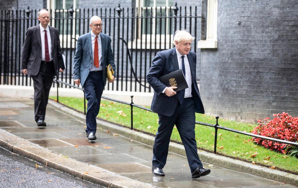 9月15日,英國首相約翰遜(Boris Johnson)對內閣進行改組。(Richard Pohle - WPA Pool/Getty Images)