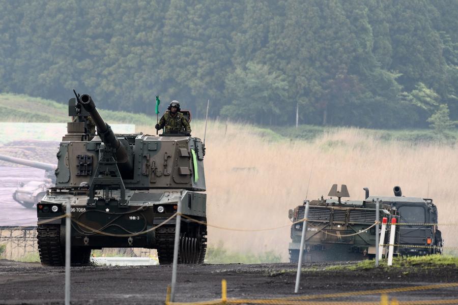 中共威脅 日本擬提前修改中期計劃增防衛預算