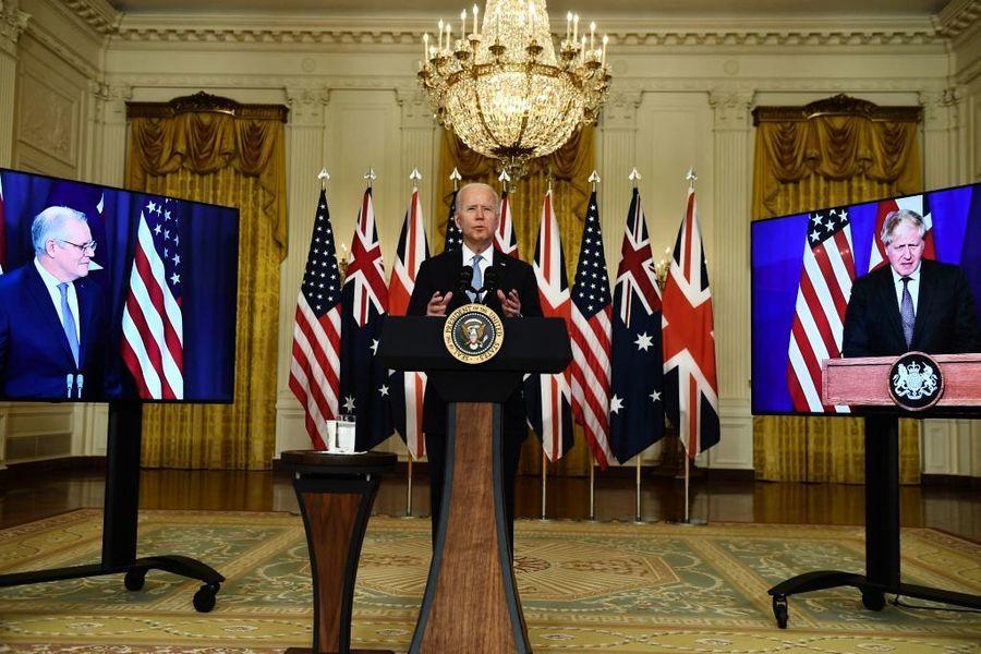 國防專家:中共挑釁促成了美英澳安全盟約