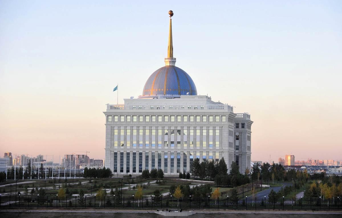 哈薩克斯坦(Kazakhstan)總統府(JOHN MACDOUGALL/AFP via Getty Images)