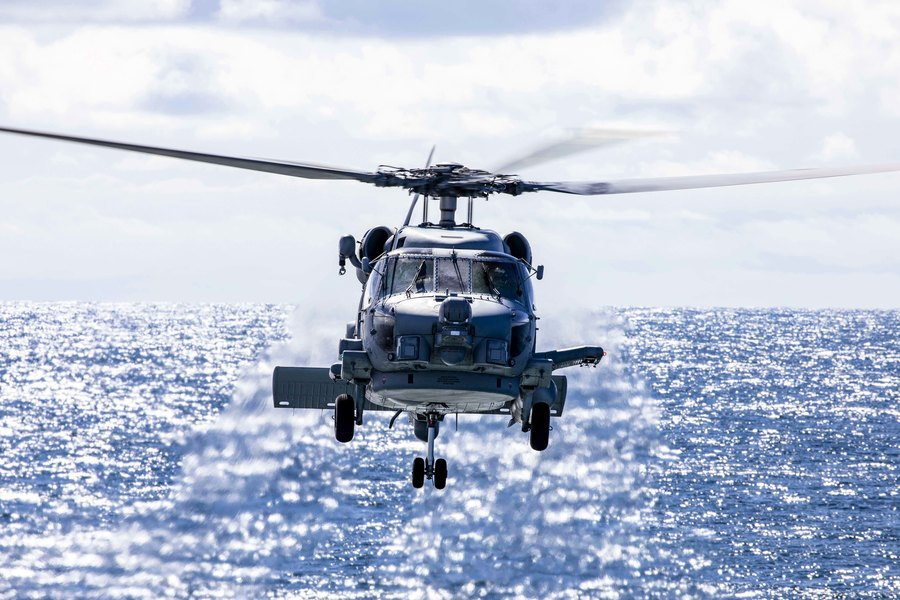 美國向澳洲出售12架海鷹直升機 強化軍事合作