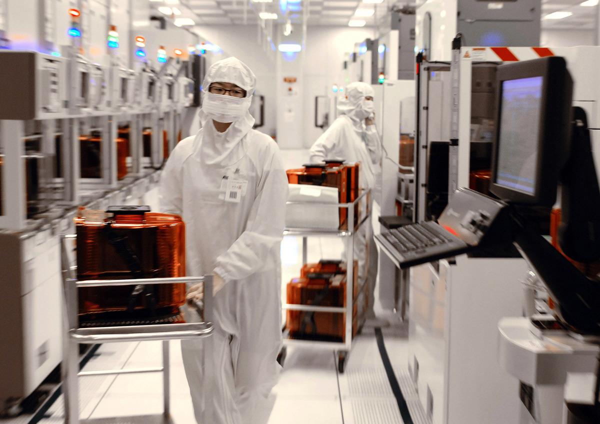 日媒報道,台灣製造業在美國建立生產網的趨勢開始擴大。圖為示意照。(AFP)
