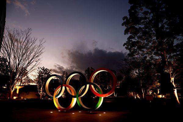 2021年1月8日,東京奧運會的主會場。(BEHROUZ MEHRI/AFP via Getty Images)