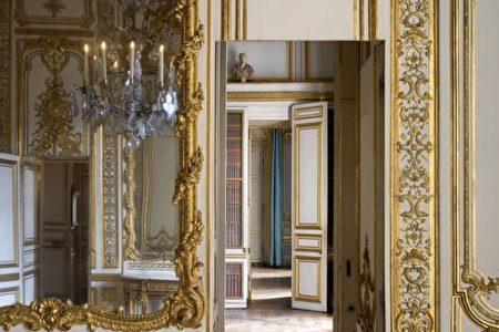 國王套房的走廊一隅。(Thomas Garnier/Chateau de Versailles,凡爾賽宮提供)