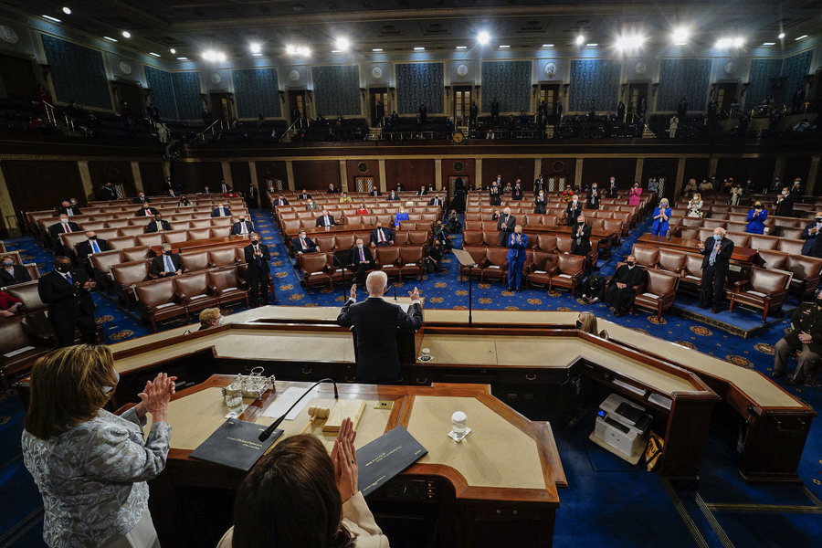 拜登首次國會聯席會議演講 一次看懂