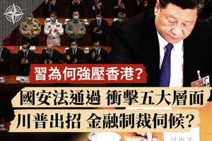 【十字路口】習為何壓香港 港國安法衝擊五層面