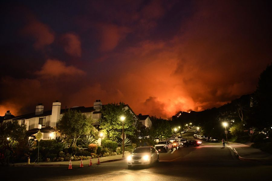 太平洋帕利塞德火致居民撤離 警方尋縱火者